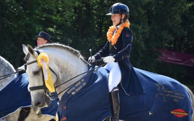 Twee paarden Europees kampioen!